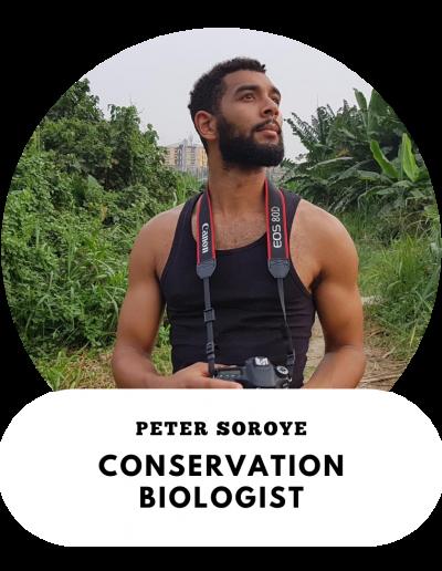 Peter Soroye - Conservation Biologist