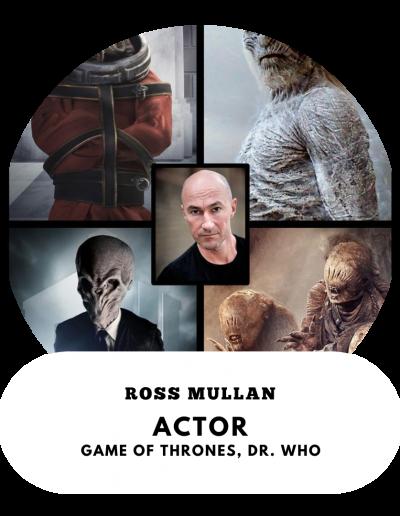 Ross Mullan - Actor (Whitewalker, Game of Thrones)