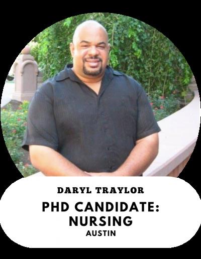 Daryl Traylor - PhD candidate in Nursing