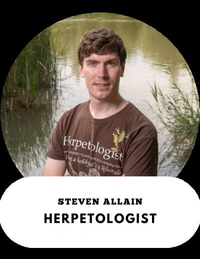 Steve Allain - Herpetologist
