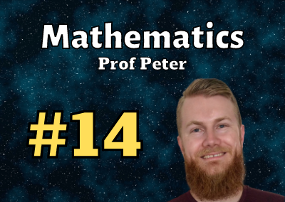 Ep. 14: Prof Peter (Math Professor)