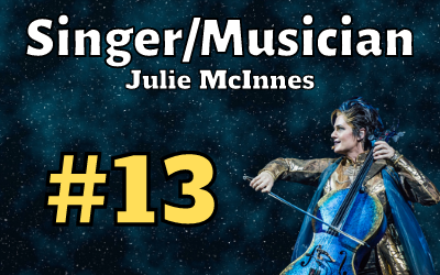 Ep. 13: Julie McInnes (Singer/Musician)