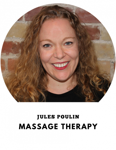 Jules Poulin - From the neck up massage therapy