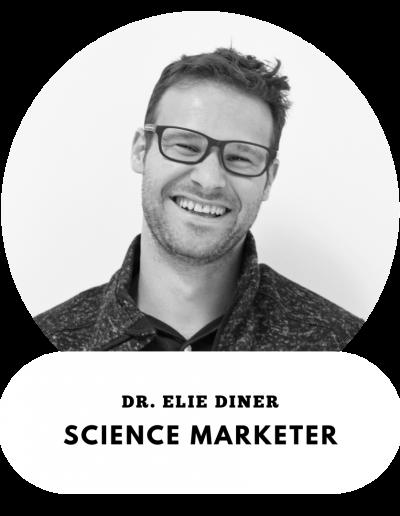 Dr. Elie Diner - Science Marketer