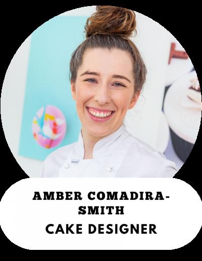Amber Comadira-Smith - Cake Designer