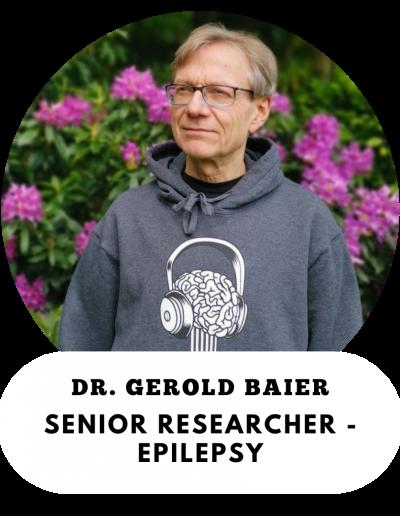 Dr. Gerold Baier, Senior Researcher, Epilepsy